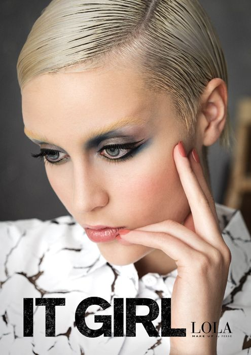 Look #1 FACTORY GIRL Edie Sedgwick, the gamine It Girl and Andy Warhol muse, is the inspiration for this look. The nude lip allows the eyes to take centre stage, with a new edgier take on the smokey eye. High shine nail polish in a beautiful rosy nude is the perfect accessory.