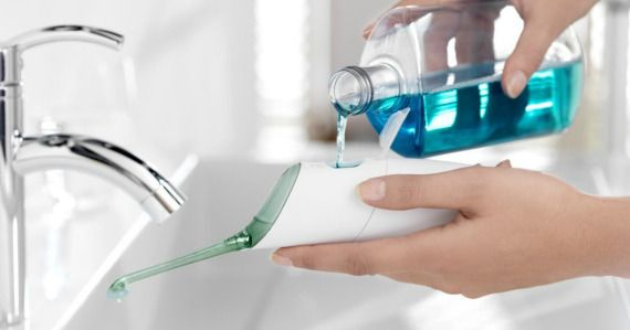 Hate flossing? Snag yourself a Philips Sonicare AirFloss Rechargeable Electric Flosser to help you get the job done with ease.