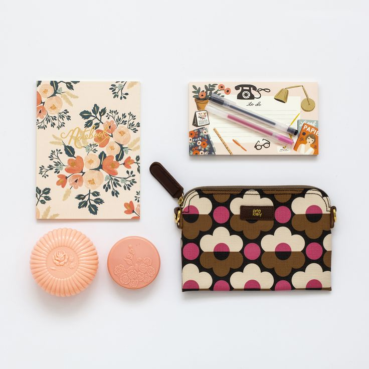 Orla Kiely and Rifle Paper Co.