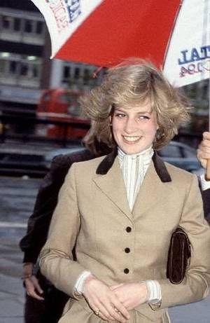 Princess Diana , Capital Radio Station - le 23 Novembre 1982