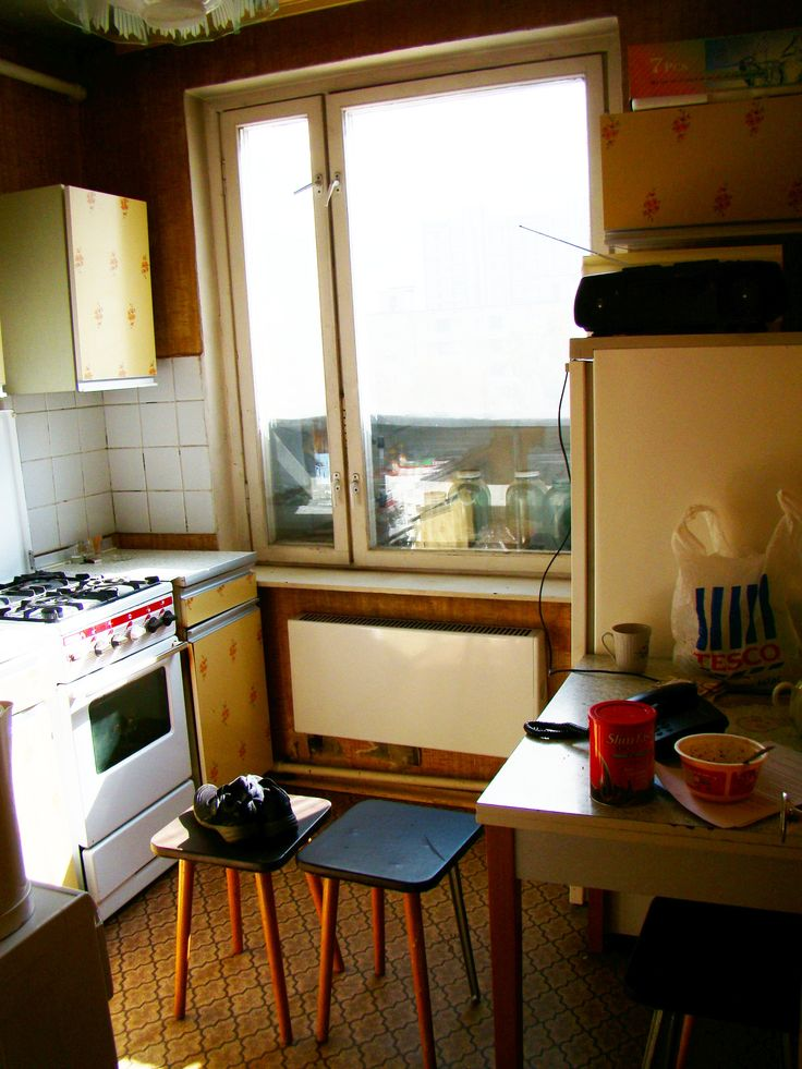 Soviet kitchen.