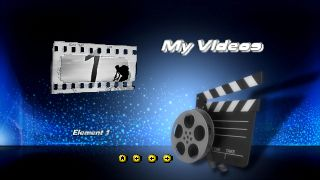 Add hollywood style dvd menus templates to your videos and for Powerdirector dvd menu templates