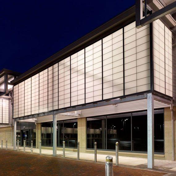 Kalwall Case Study Retail Park