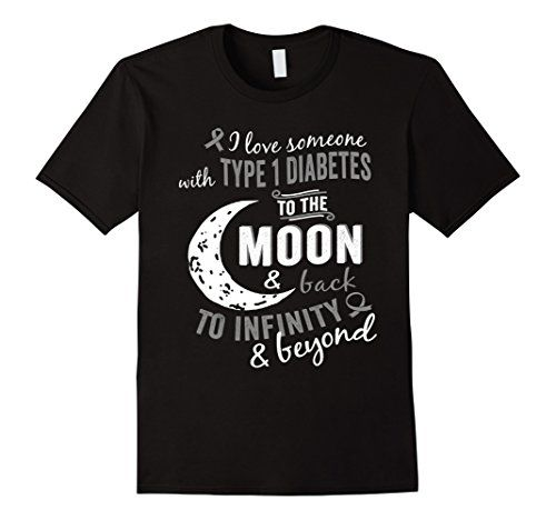 Men's Type 1 diabetes Shirt - Diabetes Shirt - Diabetes Awareness Medium Black ** To view further for this item, visit the image link.