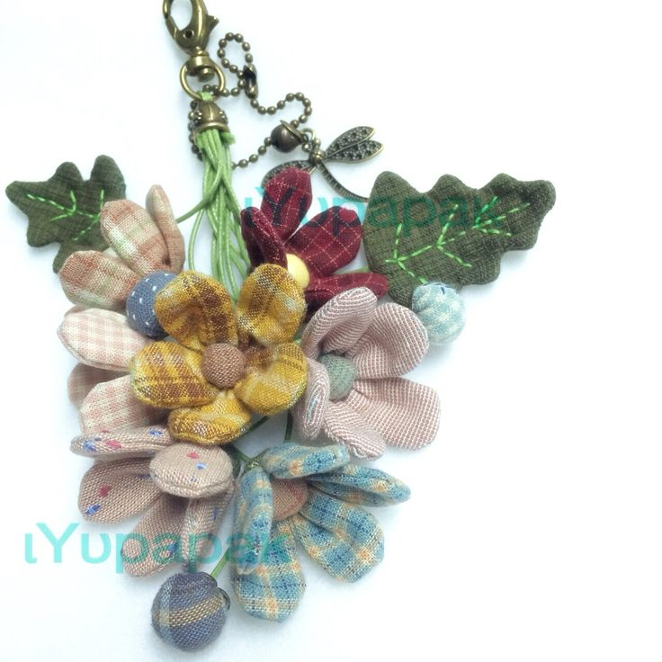 Flowers Key ring