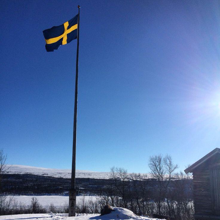 A beautiful day in Tänndalen, Sweden. #snow #sweden