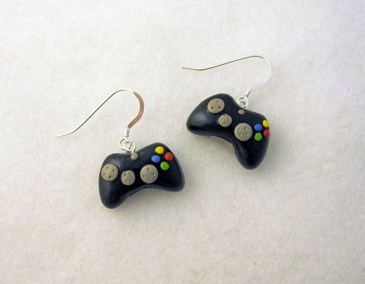 xbox 360 controller earrings