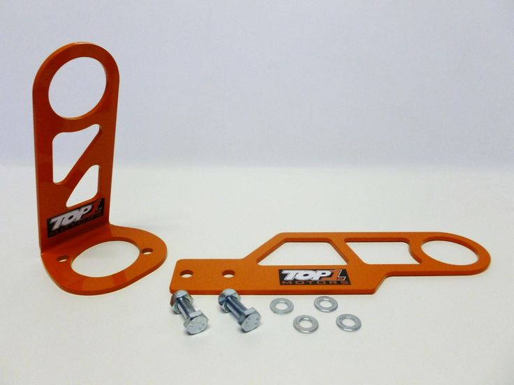 Top1 Motors – EK4 Race Tow Hooks (Rear)  £65.00  TOP1 MOTORS Race design tow #hooks are made from 3/16 in. orange powder coated steel for durability and feature a 2 1/4 in. diameter opening.
