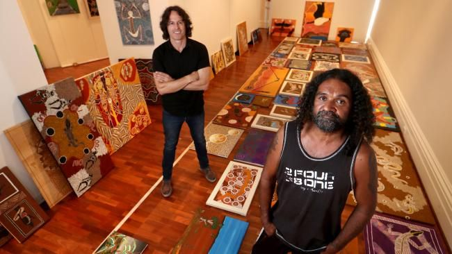 When indigenous artist Jeffrey Jackson first entered jail, he sent his paintings to relatives who hung them on the walls of their family home.