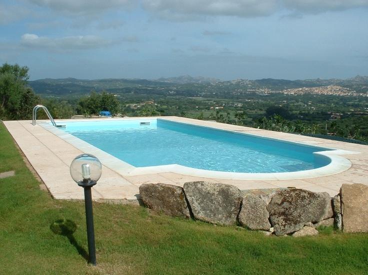 - Piscina interrata Tenerife Zodiac - Semplice e funzionale ma al tempo stesso elegante. Immagina di avere una piscina Zodiac nel tuo giardino... #piscina #interrata