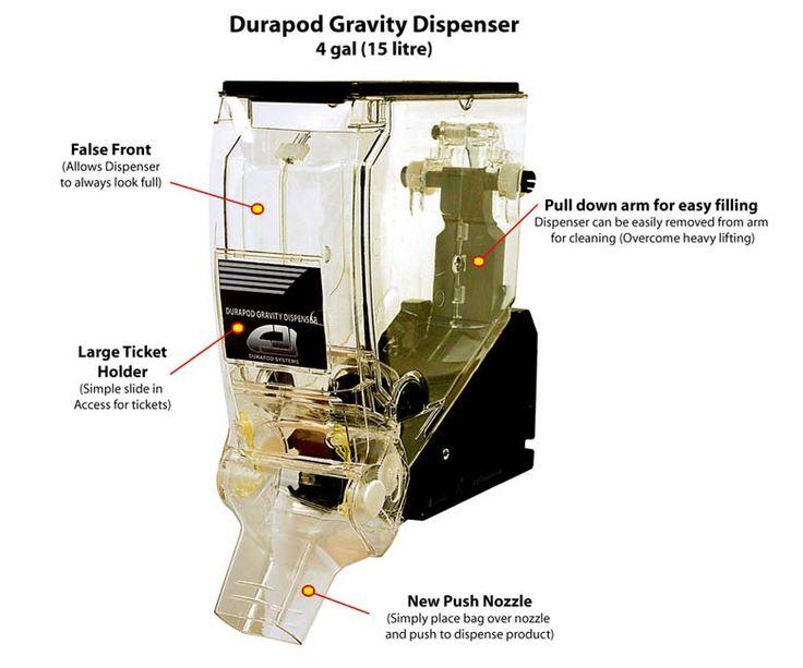Durapod Gravity Bin