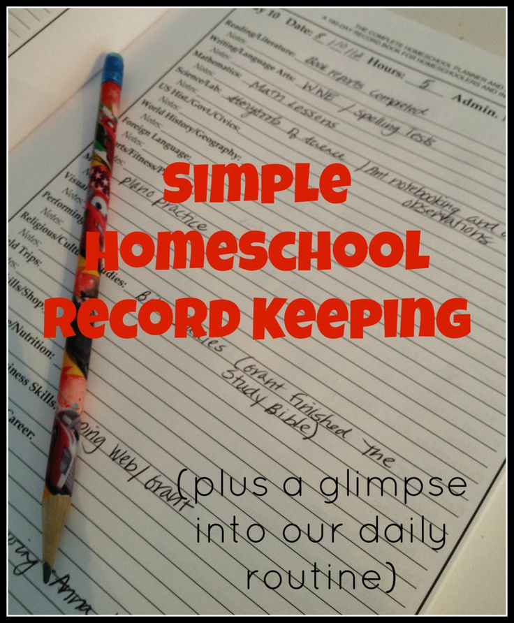 """I've had a few readers ask me to explain how we """"fit everything in"""", or  """"what does a typical day look like in your homeschool?"""". This post will  show how I try to schedule our days to accomodate a rigorous education, but  still retain enough time for pursuit of interests and also much needed  rest.   I will also share with you a very SIMPLE way I am keeping records this  year!   The goal of this post is to ENCOURAGE you - not to make you feel like you  aren't doing nearly as much as me…"""