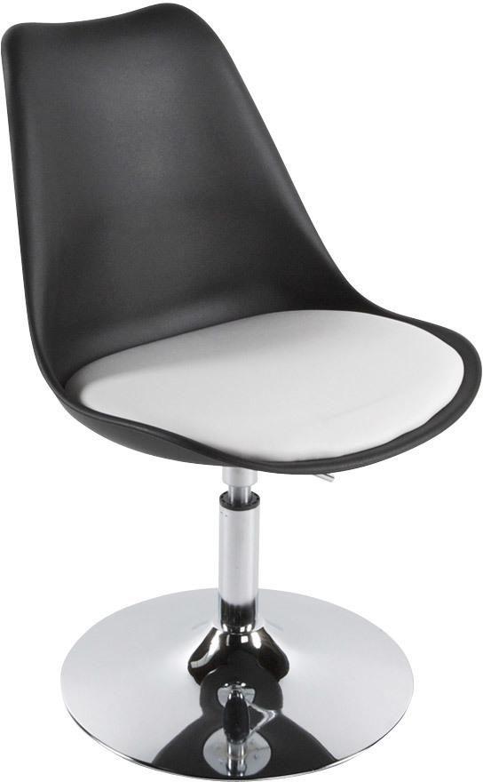 Zwart Wit Eetkamerstoelen.Kokoon Design Eetkamerstoel Victoria Zwart Wit
