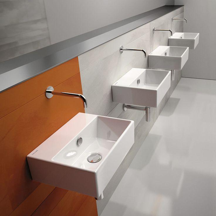 Lavabos montados en la pared (montado lavabos)