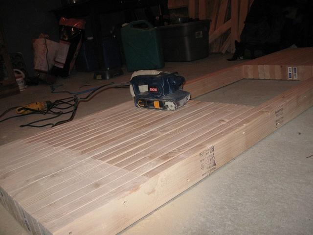 2x4 Countertop Cottage Wood Countertops Pinterest