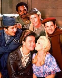 """cast members of Hogan's Heroes   Fact: did you know that Richard Dawson (Newkirk) had an appearance on the Dick Van Dyke Show..and Ivan Dixon (Kinchloe) appeared in the 1970's movie """"Car Wash"""""""