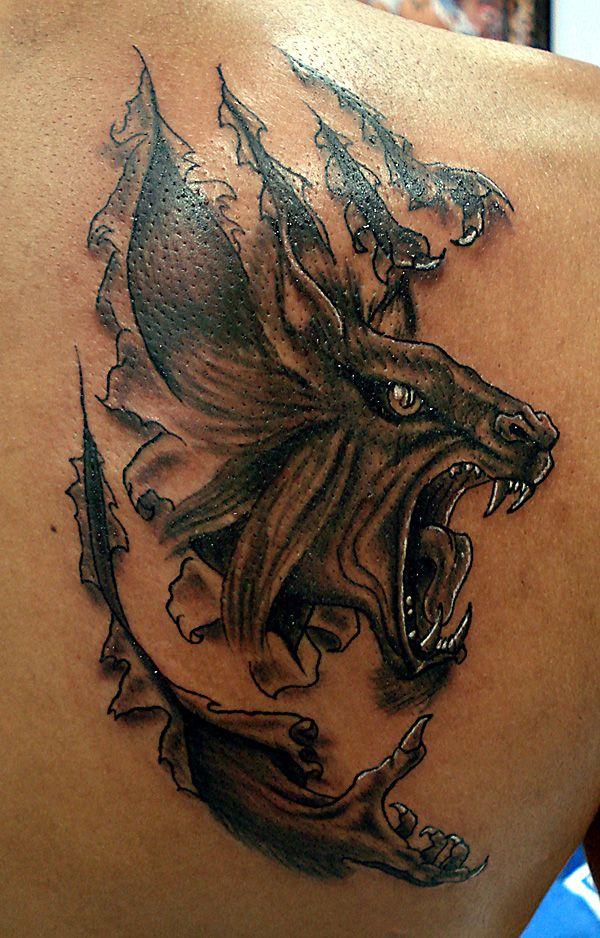 26 best badass werewolf tattoos images on pinterest for Badass first tattoos