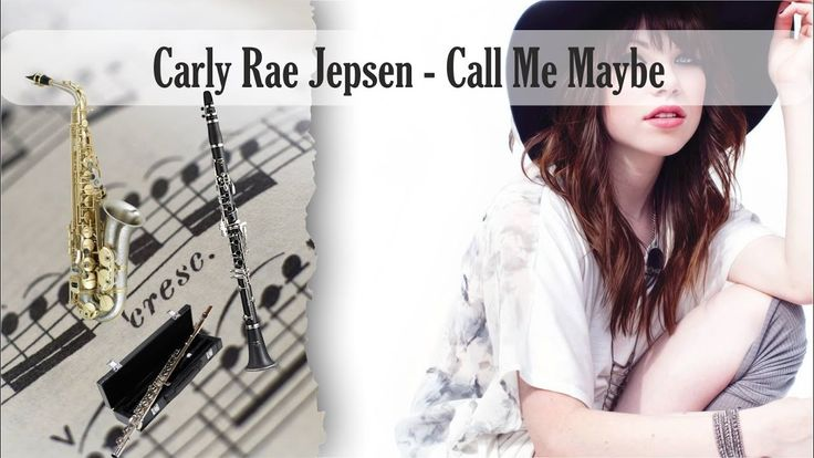Partitura Carly Rae Jepsen - Call Me Maybe Trio Flauta Dulce, Clarinete ...