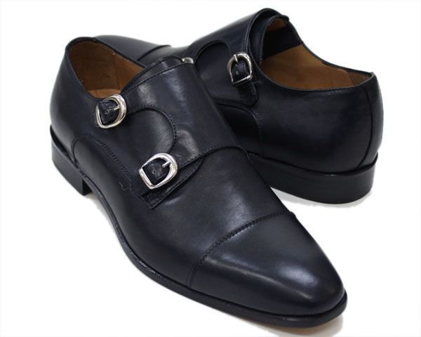 double monks strap shoes made in Italy dress shoes htp://vicino.co