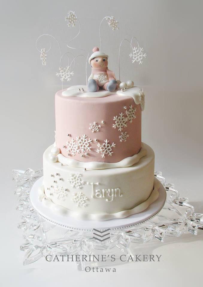 Winter 'One'derland Cake
