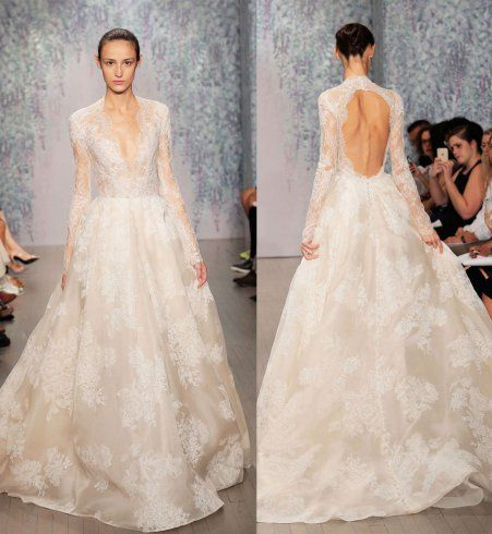 Robe de mariée crème Haute Couture Ines Di Santo