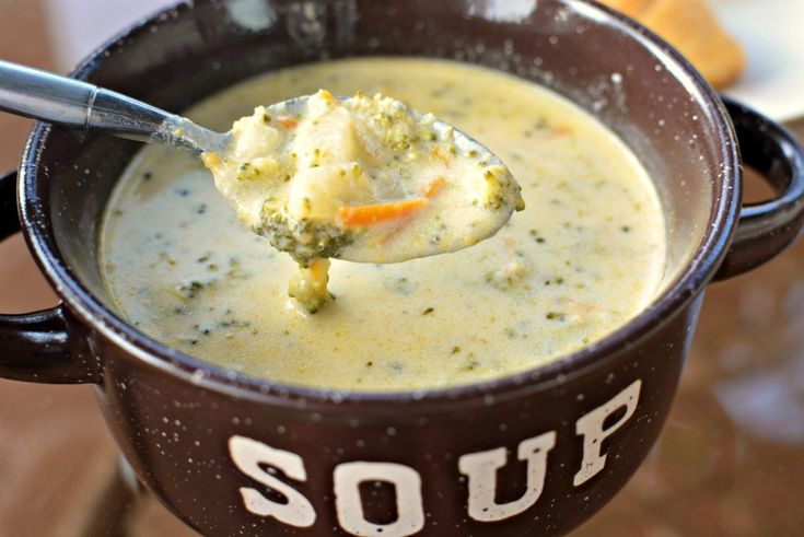 Instant Pot Broccoli Cheese Soup- The Cookin' Chicks