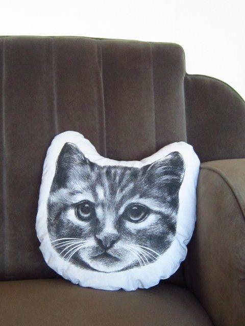 Kitty Cushion www.tinker.net.nz