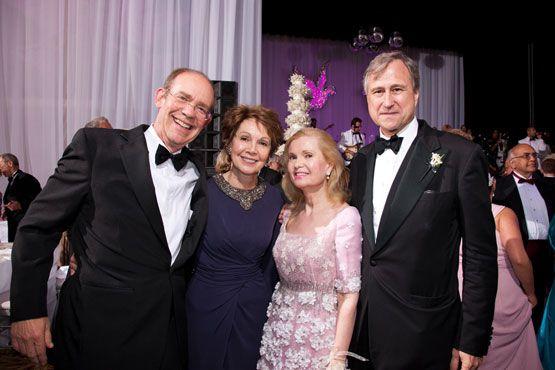 Catsimatidis-Cox Wedding; June 4, 2011 - David Eisenhower, Julie Nixon Eisenhower, Tricia Nixon Cox, and Ed Cox.