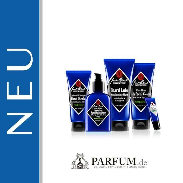 NEU bei uns: Jack Black - eine speziell für Herren entwickelte Pflegemarke. Mulitfunktionale Produkte mit absolut unkomplizierter Anwendung.  ► https://www.parfum.de/marken/jack-black/