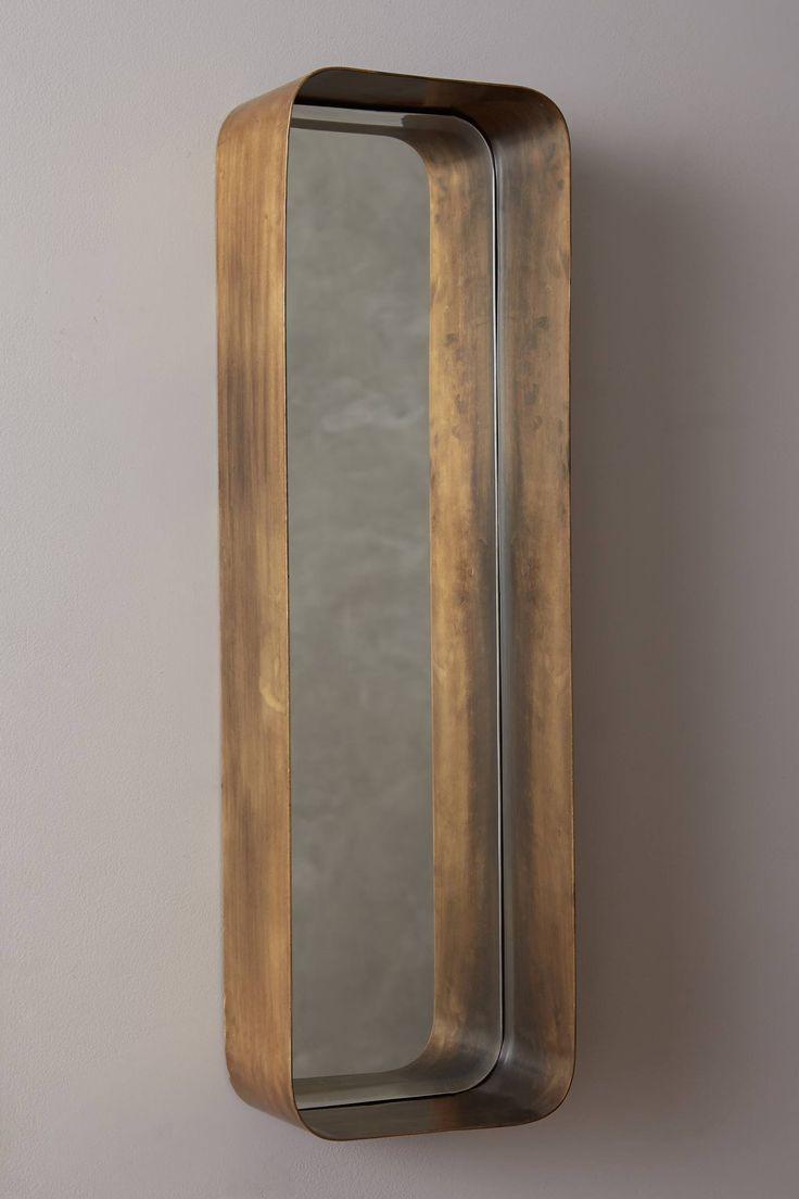 Industrial Mirror Shelf - anthropologie.com
