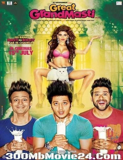 Great Grand Masti (2016) Hindi DVDRip 720p HEVC x265 ACC 5.1 500MB With ESubs | Free Top Movies Online Watch Or Download | Scoop.it