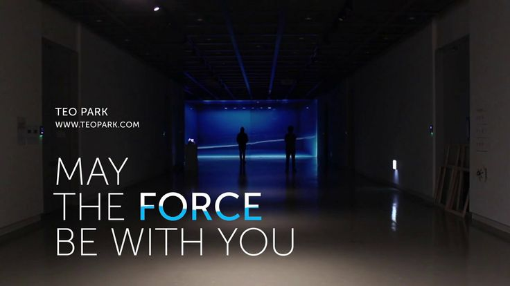 May The Force Be with You - interactive kinetic sculpture, 2013