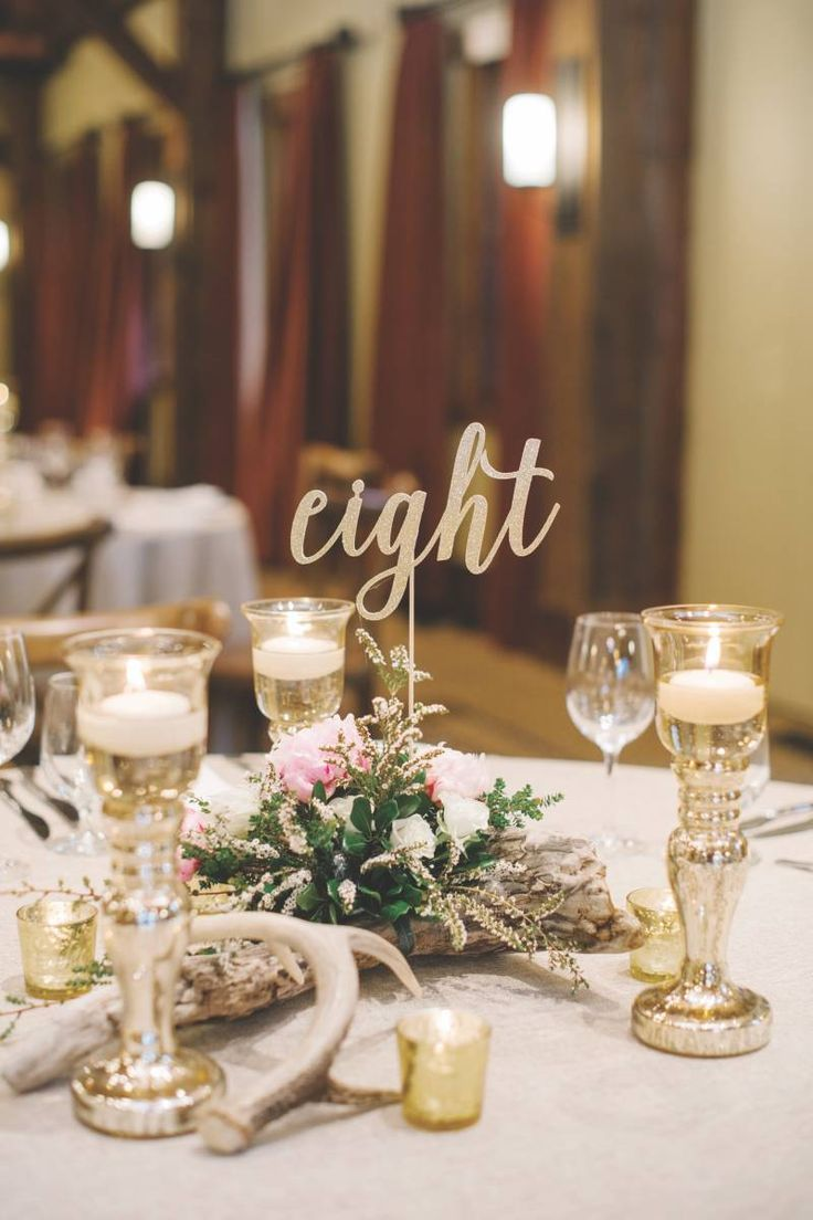 88 best table numbers/holders images on Pinterest | Wedding decor ...