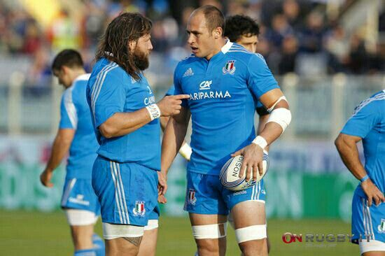 Martin Castrogiovanni and Sergio Parisse