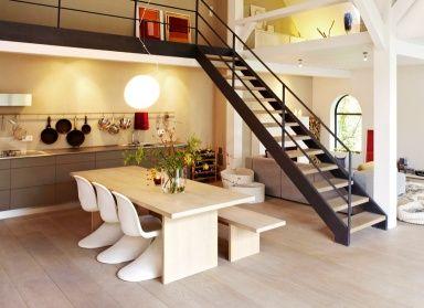 """Der """"Panton Chair"""" als klassischer Essplatz-Stuhl"""