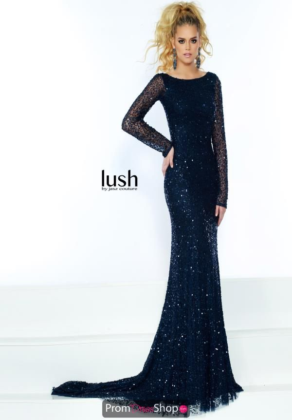 eda35826be Jasz Couture Long Sleeve Sequined Dress 1534 in 2019 | 2019 Prom ...