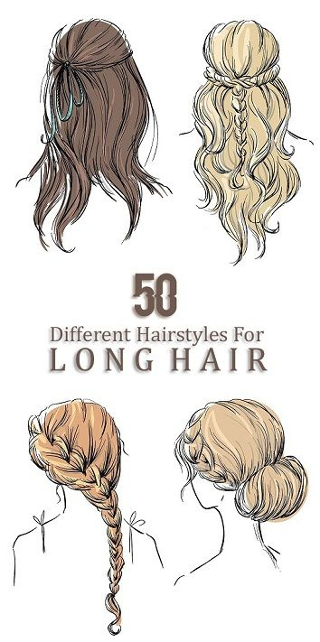 60 Easy and Simple Hairstyles for Long Hair in 2019 – hairstyles