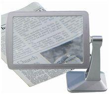 Staand mini vergrootglas voor o.a. lezen, handwerken en precisiewerk (2x) (VM967)