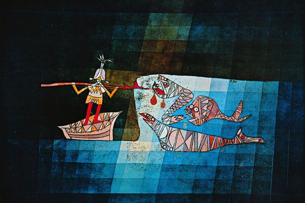 Inspired by Klee and Sinbad the Sailor