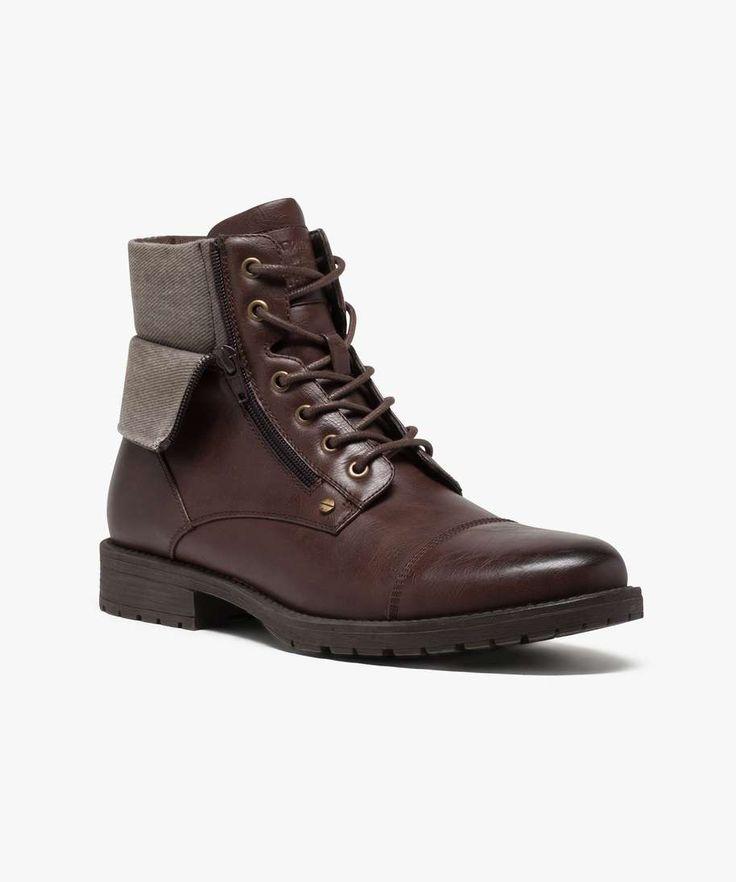Guad, Desert Boots Femme, Gris (Antrazit 14), 37 EUThink
