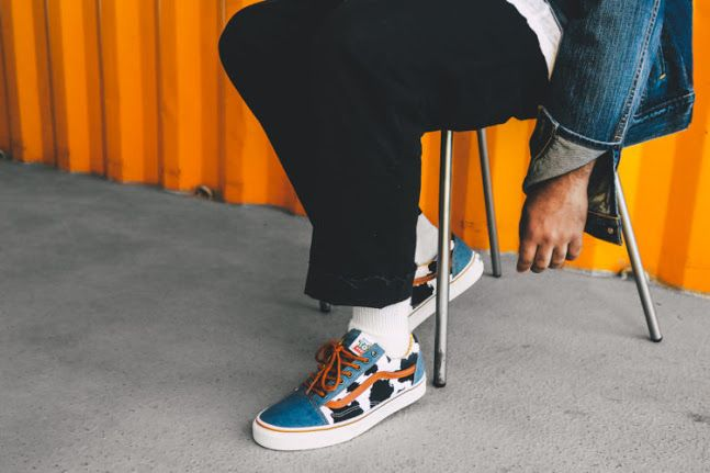 The 'Sheriff Woody' Toy Story Vans Old Skool Looks Even Better On Foot