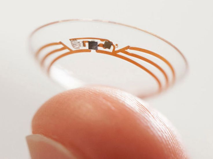 Google Lens: 'Avalanche' of patent filings show Google is eyeing up smart contact lenses.