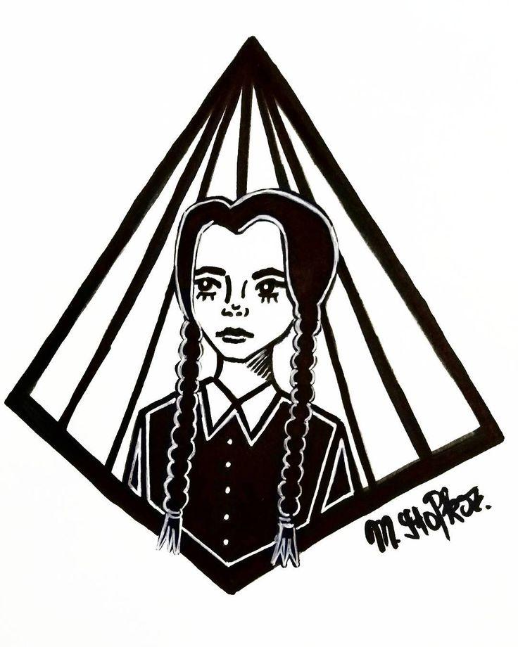 Wednesday Addams !   IG: @maggie_creates_