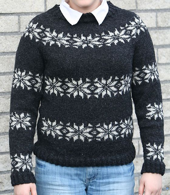 Ravelry: Icelandic sweater pattern by Kvickly