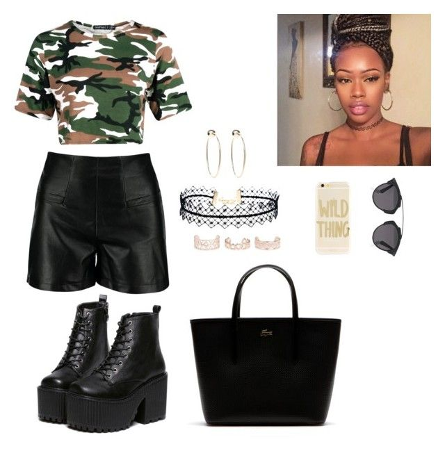 Untitled #21 by laurel-chelsea on Polyvore featuring Boohoo, Lacoste, LULUS, Bebe, New Look, Sonix and Christian Dior