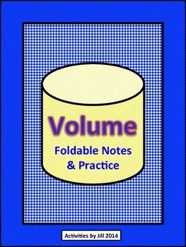 A structured approach to teaching volume can make it so much easier for students to understand! These materials lend themselves to use in interactive notebooks.  These foldable notes, examples, and practice problems feature a structured step by step format to guide student thinking as they calculate the volume of each figure. Students will find the volumes of prisms, pyramids, cylinders, cones, and spheres.