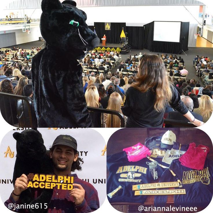 Accepted Student Day round 2 was a success! We can't wait to see our future Panthers around campus. #AdelphiAccepted #Adelphi2019