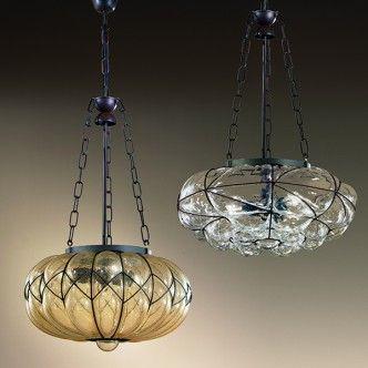 small livingroom pendant lighting MM Lampadari Soffiati 6269/3, 5364 ...