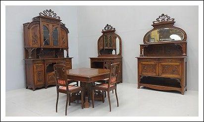 Sala da pranzo Liberty Art nouveau            Codice: 0260014