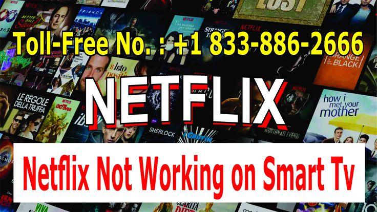 Netflix Not Working On Smart TV 18338862666 Apple